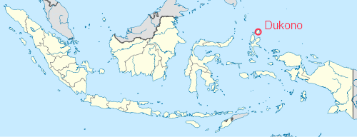 Location in Indonesia