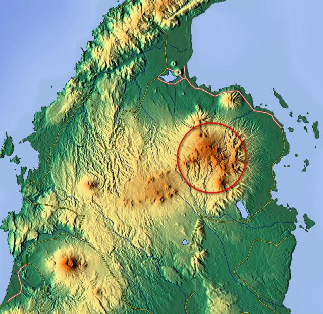 Dukono Location